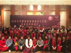 深圳市母婴服务业协会正式成立,爱帝宫月子会所荣任会长单位!