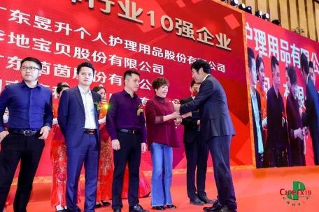"""康程荣获""""2018年度中国婴儿纸尿裤行业十强企业"""""""